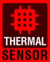 Ikona thermal senzor